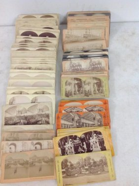 Lot Of 134 Stereoviews Of Expositions, All Real Photo,