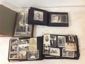 3 Photo Albums- Circa 1913 With Pueblo Indians,