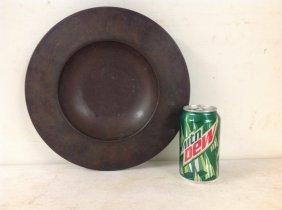 1930's Carl Sorensen Bronze Bowl, Signed On Bottom As