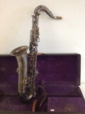 Elkhart Buesher Tenor Saxophone Serial # 180694