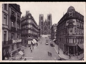 Bruxelles : Sainte-Gudule, Colonne Du Congrè