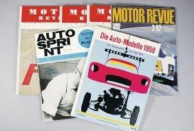 Mixed Lot Of 6 Pieces, No. 1: The Car Models 1959; N