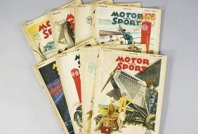 Motor & Sport Year 1929, 8 Issues: Issue 34,36,37,39