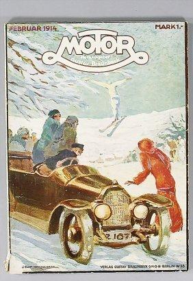"Magazine ""MOTOR"" Magazine ""Motor"" (publisher Gustav"