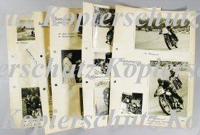 AUTOBAHNSPINNE HELLERAU 1954 Mixed Lot Of 17 Origin