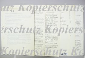 FERRARI 1959, 8 Pages, Technical Data, Briefing Fer