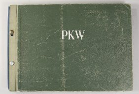 C. 1951, Passenger Car Type Book, All Car Brands Wi