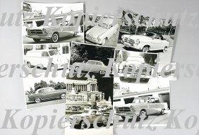 BORGWARD Mixed Lot Of 57 Original B/W Photos, Golia