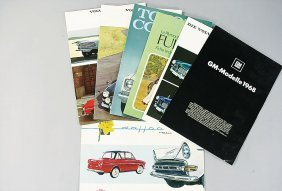 Mixed Lot Of 20 Sales Brochures, The Greater Part