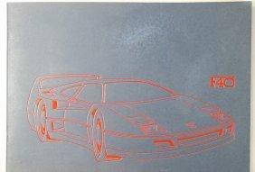 "FERRARI Sales Catalog ""40 Jahre Ferrari-Geschicht"