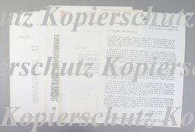 """LAMBORGHINI 5 Press Writing, 1x """"Automobile Salon"""
