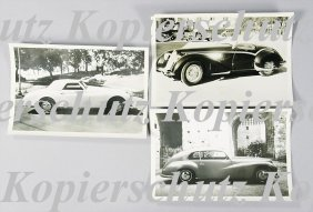 ALFA-ROMEO Mixed Lot Of 3 Original B/W Photos, Al