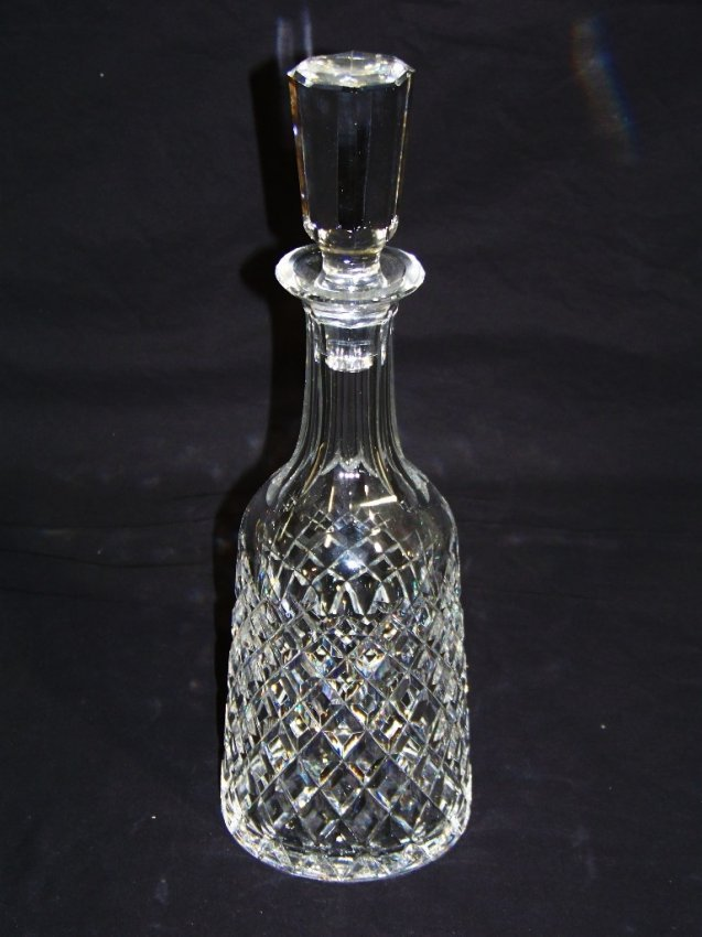 fine waterford crystal decanter lot 51