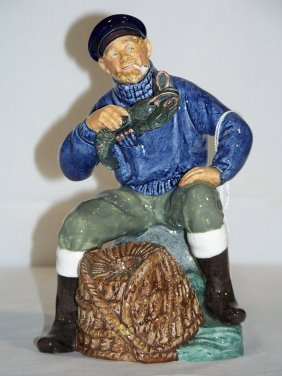 ROYAL DOULTON LOBSTER MAN HN2317 BY M. NICOLL C. 1963