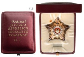 Order Of The Star Of Romania Rsr