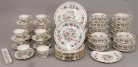 "Set Of Aynsley ""Pembroke"" Dinnerware"