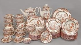 "Set Of Spode ""Indian Tree"" Dinnerware"