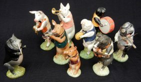 Beswick Pig Promenade Orchestra, Nine Pieces, Inclu