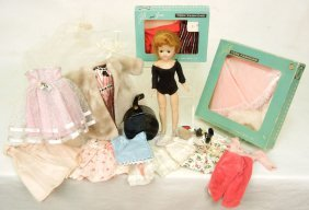 1950s Vogue Jill Doll, Clothing, And Accessories, T