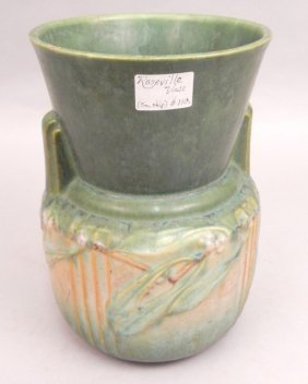 Roseville Laurel Vase