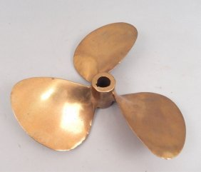 Brass Ship Propeller