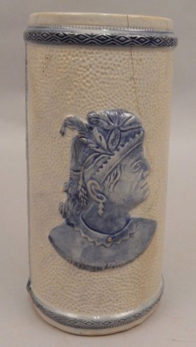 Sleepy Eye Pottery Vase