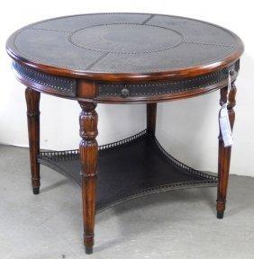 Theodore Alexander Armoury Collection Round Acacia