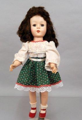 "18"" Hard Plastic Walker Doll"