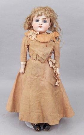 Kestner 154 Child Doll, Bisque Shoulder Head