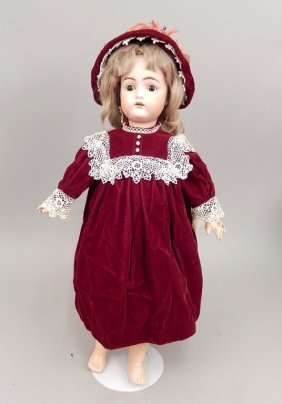 Antique Kammer & Reinhardt 192 German Bisque Head Doll