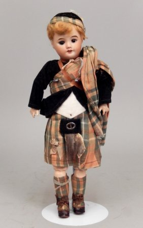 Sfbj 60 French Bisque Head Doll