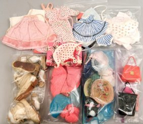 Doll Shoes, Hats, And Clothes