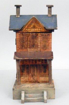 Gottschalk Blue Roof Dollhouse