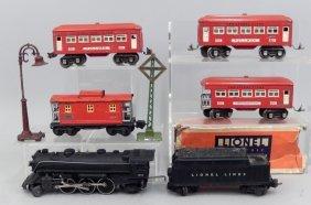 Lionel Prewar O Gauge Passenger Train Set