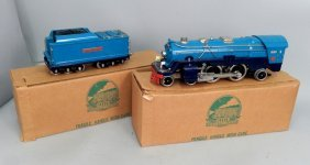 "Mth Pennsylvania Railroad ""blue Comet"" Locomotive And"
