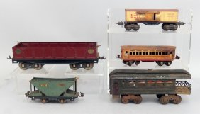 Lionel Standard And O Gauge Train Cars