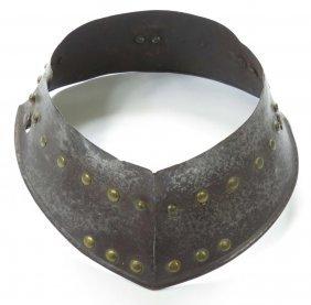 A Gorget Armor Collar