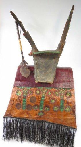 A Rare Tuareg Saddle