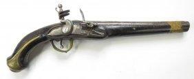 An Ottoman Flintlock Kubur Pistol