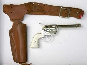 Box Lot Of Western Toy Gun & Holster Sets By Ponyboy