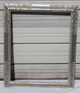 "Silver Gilt Vintage Picture Frame - 30 1/2""x35 1/2"