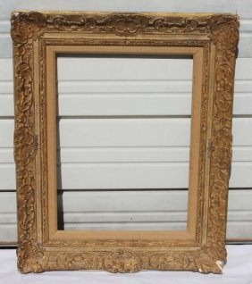 Fine Antique Newcomb Macklin Carved Pitcure Frame