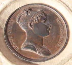 Bertrand Andrieu Ca 1810 Lead Filled Bronze Medall