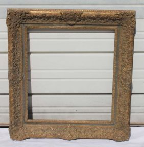 "Fine 19thC Fancy French Frame - Overall Size 31""x2"