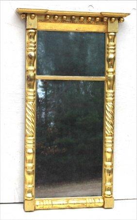 Period Sheraton Ca 1800-1820 Fine Gilded, Turned