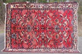 "7'3""x10'3"" Semi-antique Persian Lilihan Oriental Rm"