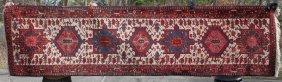 "2'10""x11'3"" Semi-antique Persian Karajeh Oriental"