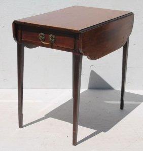 Fine Period Hepplewhite Ca 1795 Rare Springfield, Ma