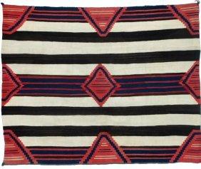"Navajo ""classic Period 1860-65"" Chief's Blanket"