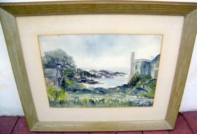 Jean Watson, Watercolor.